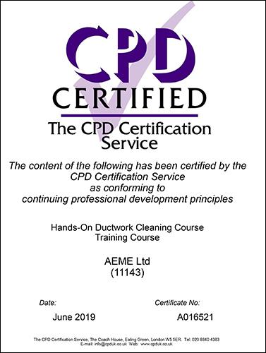 Certified certificate - A016521